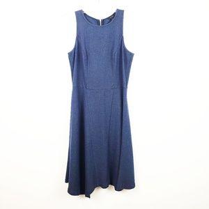 Ann Taylor Navy Blue Tank Sleeveless Dress